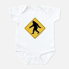 Big Foot Crossing Infant Bodysuit