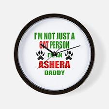 I'm an Ashera Daddy Wall Clock