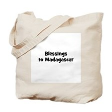 Blessings to Madagascar Tote Bag