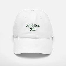 Ask Me About Seth Baseball Baseball Cap