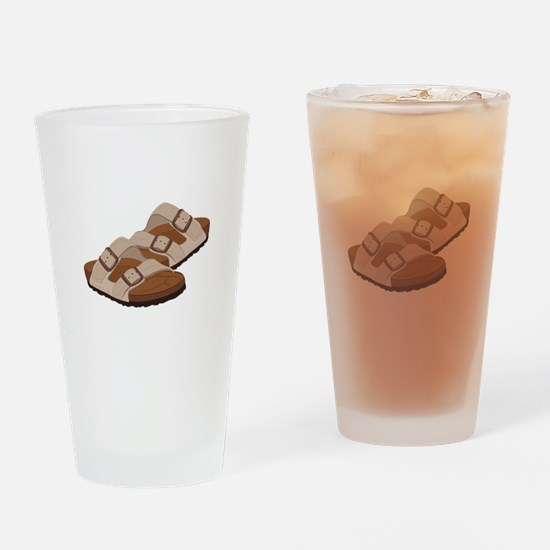 Birkenstock Sandals Drinking Glass