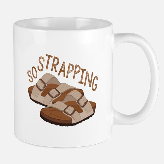 So Strapping Mugs