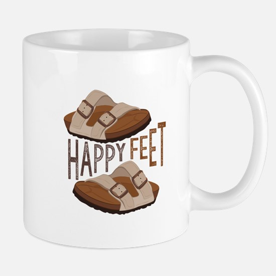 Happy Feet Mugs