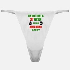 I'm an American Wirehair Daddy Classic Thong