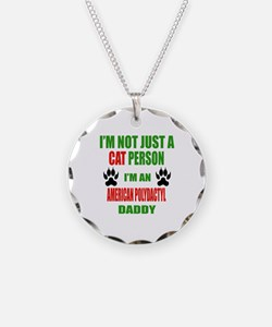 I'm an American Polydactyl D Necklace