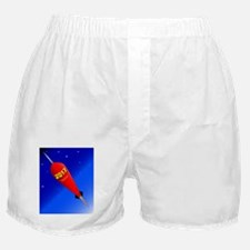 Happy New Year Rocket 2017 Boxer Shorts
