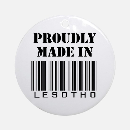 Made in Lesotho Ornament (Round)