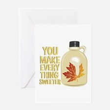 Everything Sweeter Greeting Cards