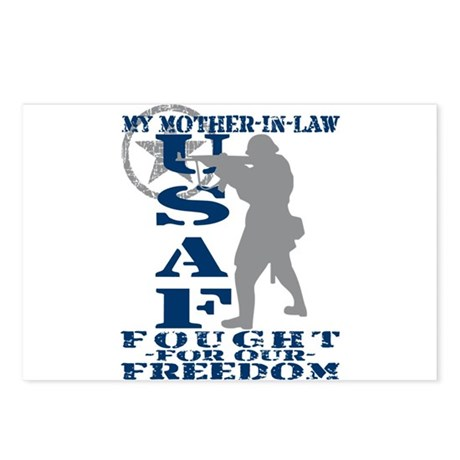 Mother-n-Law Fought Freedom - USAF Postcards (Pack