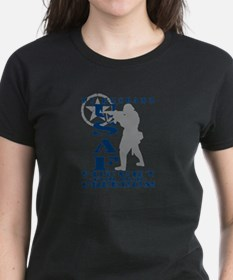Hsbnd Fought Freedom - USAF Tee