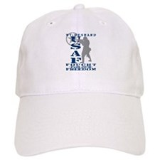 Hsbnd Fought Freedom - USAF Baseball Cap