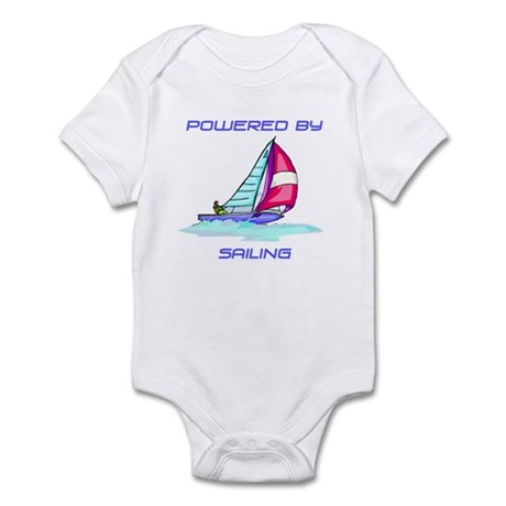 Powered By Sailing Infant Bodysuit