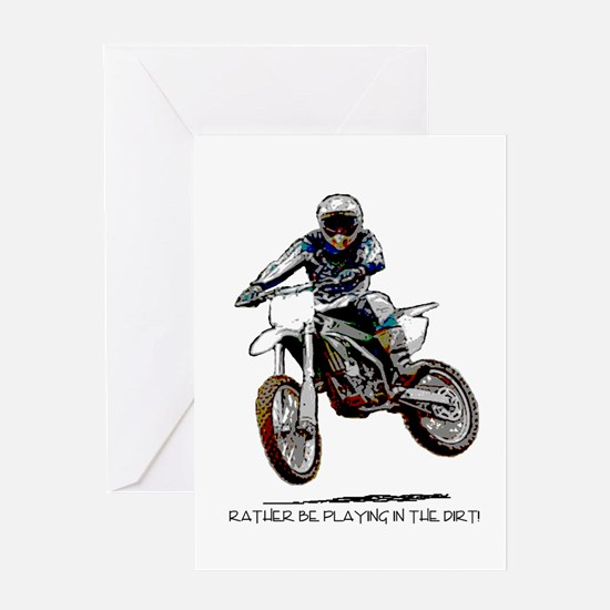 Rather be playing in the dirt with a motorbike Gre