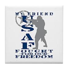 Friend Fought Freedom - USAF Tile Coaster