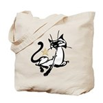 Siamese Cat Royalty Tote Bag