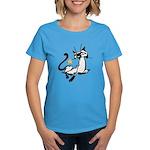 Siamese Cat Royalty Women's Dark T-Shirt
