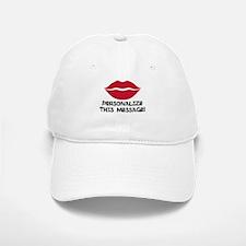 PERSONALIZED Red Lips Baseball Baseball Baseball Cap