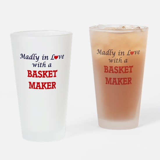 Madly in love with a Basket Maker Drinking Glass