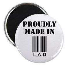 Proudly Made in Lao Magnet
