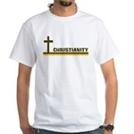 Retro Christianity White T-Shirt
