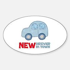 Cute New driver Sticker (Oval)