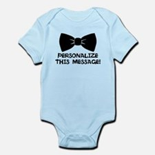 PERSONALIZED Cute Bow Tie Body Suit