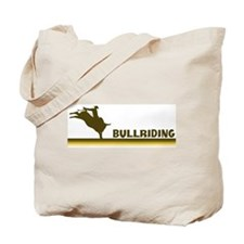 Retro Bullriding Tote Bag