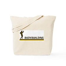 Retro Bodybuilding Tote Bag