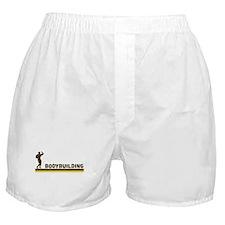 Retro Bodybuilding Boxer Shorts