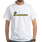 Retro Ballroom Dancing White T-Shirt