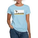 Retro Ballerina Women's Light T-Shirt