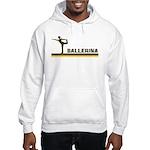 Retro Ballerina Hooded Sweatshirt