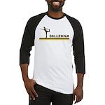 Retro Ballerina Baseball Jersey