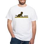 Retro Baby White T-Shirt