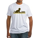 Retro Baby Fitted T-Shirt