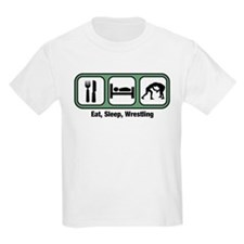 Eat, Sleep, Wrestling T-Shirt