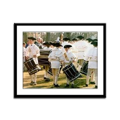 Band of Brothers Framed Panel Print