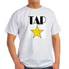 Tap Star Ash Grey T-Shirt