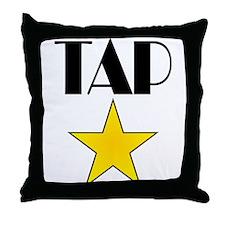 Tap Star Throw Pillow