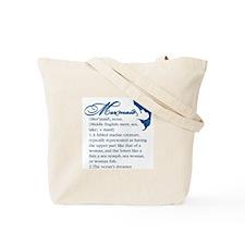 Mermaid Defined: Tote Bag