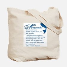 Mermaid Defined: Tote Bag