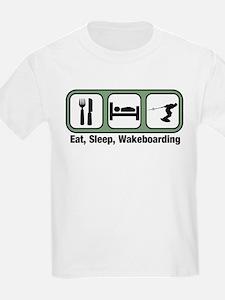 Eat, Sleep, Wakeboarding T-Shirt