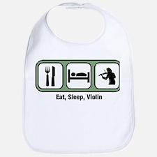 Eat, Sleep, Violin Bib