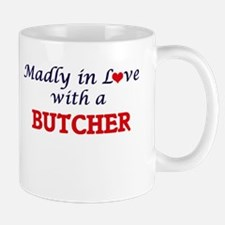 Madly in love with a Butcher Mugs