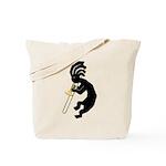 Kokopelli Trombone Tote Bag