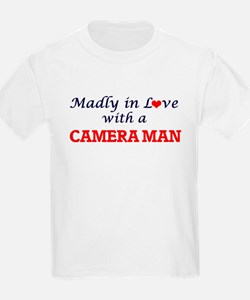 Madly in love with a Camera Man T-Shirt