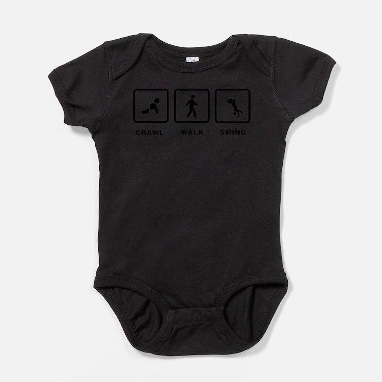 Cute Stick figures Baby Bodysuit