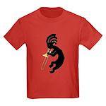 Kokopelli Trombone Kids Dark T-Shirt