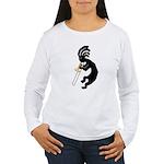 Kokopelli Trombone Women's Long Sleeve T-Shirt