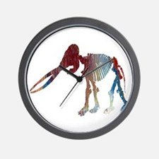 Mastodon Skeleton Wall Clock